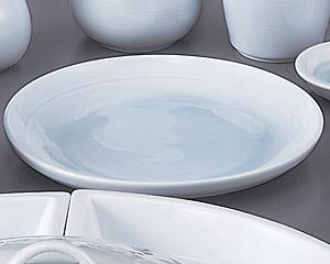 青白磁7寸丸皿