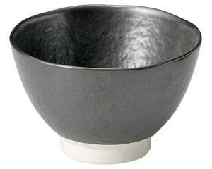 鉄結晶 石目4.5飯碗