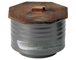 鉄結晶 飯器(大)蓋付
