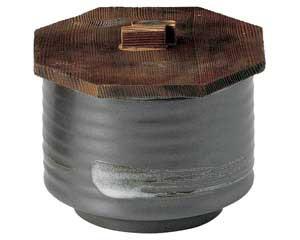 鉄結晶 飯器(小)蓋付