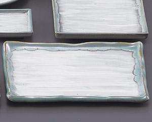 緑水手造り角10.0皿