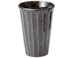 黒織部 しのぎカップ