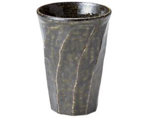 黒織部 ねじりカップ