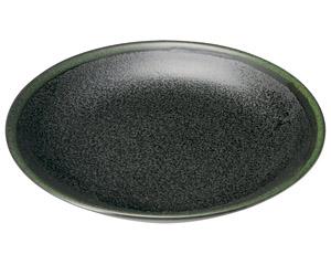グリーン志野 丸7.0皿