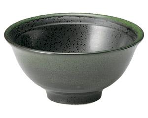 グリーン志野 リムスープ碗