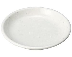 豊明(粉引) 4.5皿