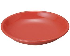 豊明(赤釉) 7.0深皿