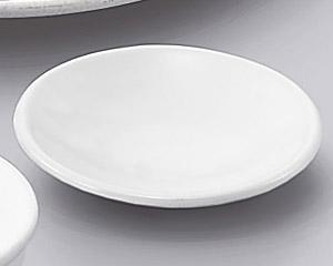 W/B白マット丸薬味皿