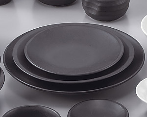W/B黒マット7.0皿