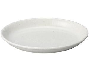 豊明(粉引) 10.0楕円鉢