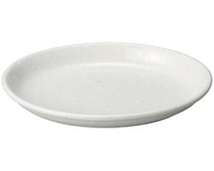 豊明(粉引) 8.5楕円鉢