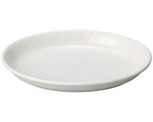 豊明(粉引) 7.5楕円鉢