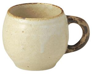 くつろぎ 粉引 たるマグカップ