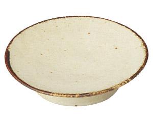 くつろぎ 粉引 11cmシュークリーム皿