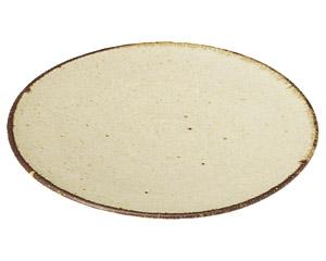 くつろぎ 粉引 16cmケーキ皿