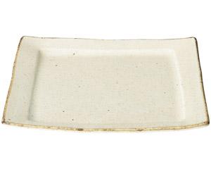 くつろぎ 粉引盛り皿