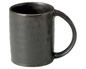 くつろぎ 鉄黒 切立マグカップ