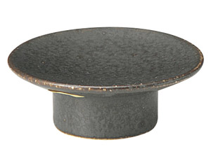 くつろぎ 鉄黒 8cmマカロン皿