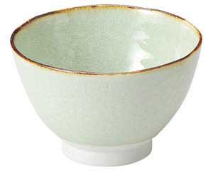 翠玉(貫入) 石目 4.5 飯碗