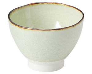 翠玉(貫入) 石目 3.8 飯碗