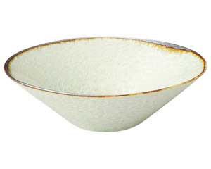 翠玉(貫入) 石目5.3 楕円鉢