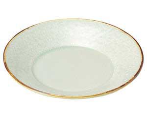翠玉(貫入) 石目5.0 丸皿