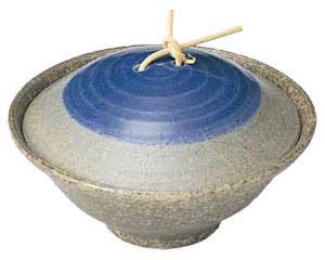 藍華 蓋付小鉢