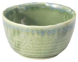 流水織部 花形4.0小鉢