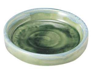 流水織部 切立ヤクミ皿