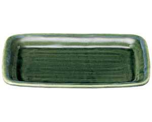 流水織部 トレー12.0皿