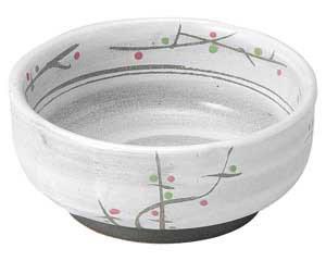 あけぼの(土物) 梅形4.0小鉢