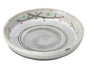 あけぼの(土物) 切立3.0皿