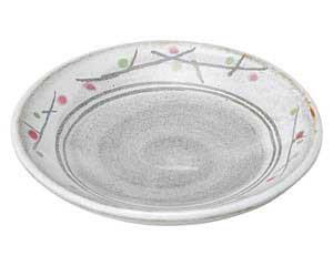 あけぼの(土物) 丸3.0皿