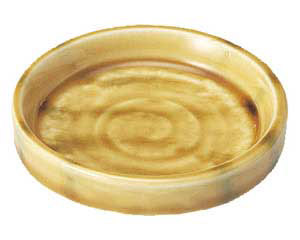 黄交趾 薬味皿