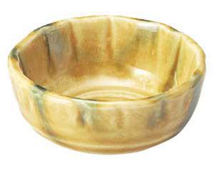 黄交趾 花型3.0鉢