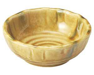 黄交趾 花型4.0鉢