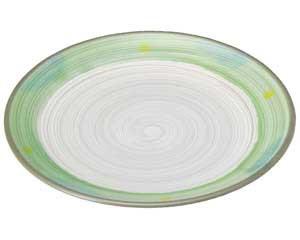 新緑 丸8.0皿