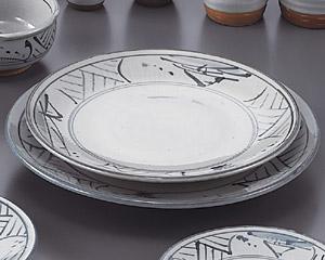 トチリ山水丸8.0皿