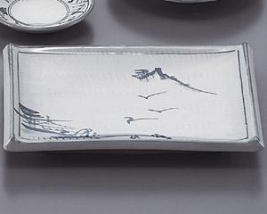 トチリ山水長角10.0皿