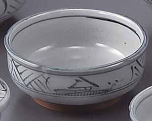 トチリ山水梅形4.5鉢