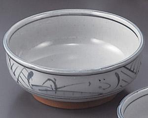 トチリ山水梅形刺身鉢