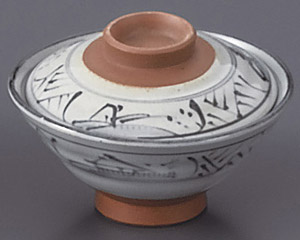 トチリ山水のり茶(蓋付)