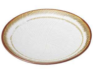 乳白 丸8.0皿