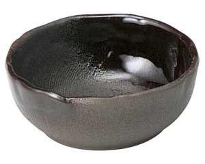 鉄釉布目 3.5ボール
