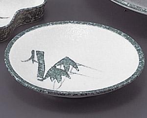 グリーン淡雪笹丸4.0皿