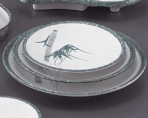 グリーン淡雪笹丸6.0皿