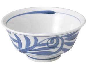 古染唐草 反型6.0深鉢