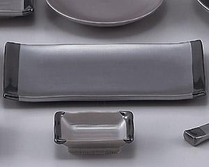 鉄砂9.0長角皿