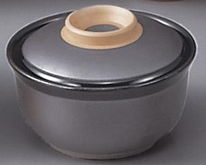 鉄砂円菓子碗