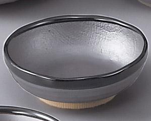 鉄砂4.5浅鉢